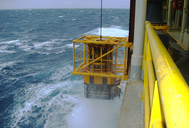 Heavy Weather ROV Deployment Systems